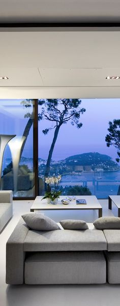 interior modern design - million $$$ view!