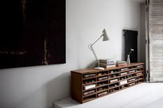 reclaimed furniture mixed with modern