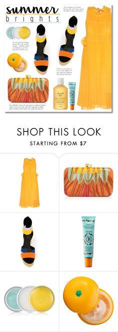 """Fresh look"" by alialeola ❤ liked on Polyvore featuring Sonia Rykiel, Serpui, Pierre Hardy, Rosebud Perfume Co., Clinique, Tony Moly, Fresh and summerbrights"