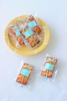 「フィナンシェ#1」サイズぴったりラッピング   お菓子・パンのレシピや作り方【corecle*コレクル】