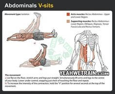 Abs V-sit Workout!