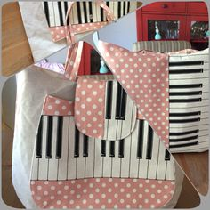 Kokka fabric -Abbie big bag #Ithinksew pattern