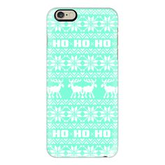 iPhone 6 Plus/6/5/5s/5c Case - Tiffany Mint Turquoise Ugly Christmas... ($40) ❤ liked on Polyvore featuring accessories, tech accessories, phone, iphone case, phone cases, pattern iphone case, vintage iphone case, mint green iphone case and apple iphone cases
