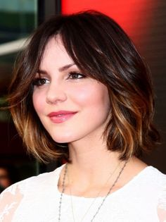 35 short ombre hair color ideas for brunettes that are 25 stunning examples of ombré color for short hair 35 … 2015 Hairstyles, Messy Hairstyles, Pretty Hairstyles, Bob Hairstyle, Celebrity Hairstyles, Brown Hairstyles, Hairstyle Ideas, Style Hairstyle, Summer Hairstyles