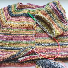 The Tunisian crocheted bolero.