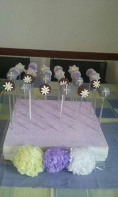 popcakes, dulces, souvenirs, mesa de dulces, candybar, candy bar, ideas, cumpleaños, souvenirs