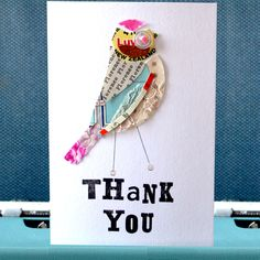 A Pratt Factory Personalised Thank You Card