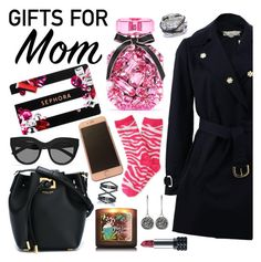 """""""Gifts for Mom"""" by chey-love ❤ liked on Polyvore featuring Sephora Collection, Victoria's Secret, STELLA McCARTNEY, P.S. from Aéropostale, Dyrberg/Kern, Le Specs, Kat Von D, Michael Kors, Charriol and Eva Fehren"""