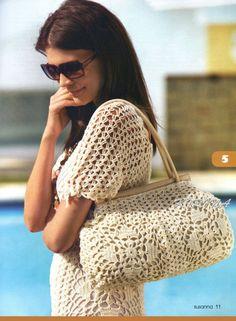 Crochet Handbag and Dress Pattern