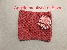 Scaldacollo /Punto margherita ai ferri🌼Maglia facile - YouTube About Me Blog, Crochet Hats, Make It Yourself, Knitting, Youtube, Adele, Iron, Knit Patterns, Dots