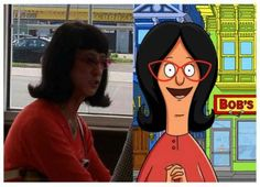 Who would have thought that some of cartoons strangest characters actually have real life look-alikes? Bob's Burger.