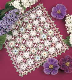Spring Meadow Doily