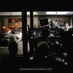 #behindthescenes @szuritaoficial en Amor de Mis amores del director @MANOLOCARO, #CesarPerlop #makeupdesign #HumansAndMonsters #CineMexicano
