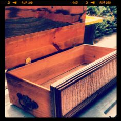 Upcycled drawer trunk