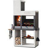 E Churrasco modern portable barbecue from Everdure Design Barbecue, Grill Design, Barbecue Grill, Grilling, Design Design, Parrilla Exterior, Bbq Area, Outdoor Kitchen Design, Outdoor Cooking