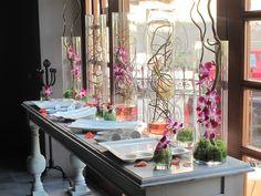 Weeding sweet table decoration by Magnolia Florería
