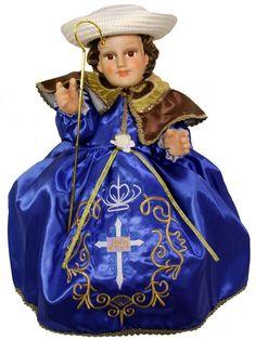 Santo Niño de Atocha, Vestido Nino Dios,Ropa Nino Dios,Nino Dios Dress