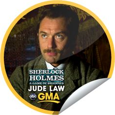 Jude Law on GMA on December 14! Sticker | GetGlue