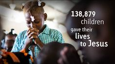 138,879 children gave their lives to Jesus in the past year.    @Compassion International compassion.com/2012