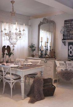 Rustic Dining Area.