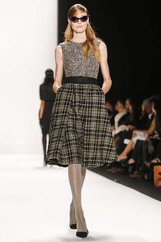 Badgley Mischka Ready To Wear Fall Winter 2014 New York - Feb. 11