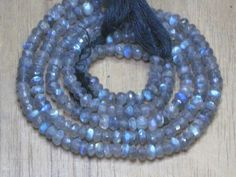 AAA very nice quality gorgeous labradorite ech pcs have strong flashy fire micro feceted rondells beads  size 4mm length 14 inches