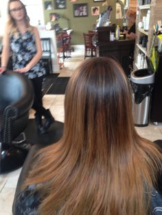 Ombre balyage by Leslie