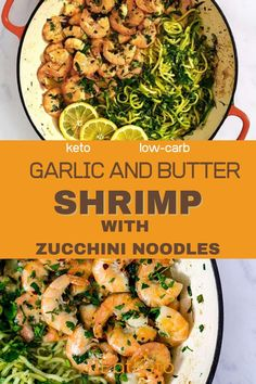 This is one of my favorite easy keto meals for those times when you just want something quick hot and easy. This simple keto shrimp recipe is ready in 10 minutes and packed with flavor thanks to plenty of garlic butter and herbs. Low Carb Shrimp Recipes, Low Carb Dinner Recipes, Keto Dinner, Lunch Recipes, Seafood Recipes, Beef Recipes, Cooking Recipes, Healthy Recipes, Fish Recipes