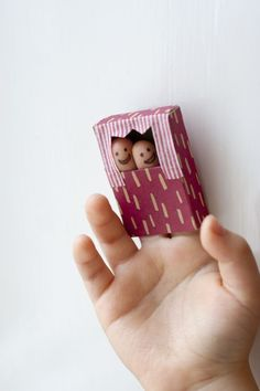 Tiny Finger Puppets from UKKONOOA