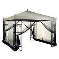 Replacement Canopy for Lowes Garden Treasures Finial Classic Gazebo by Garden Winds. $139.99. NOTE - This item includes the fabric canopy portion replacement only. Mosquito netting in picture NOT INCLUDED.. This gazebo has finial ornaments on the corners and peak of the roof!!! This canopy will have pre-cut holes in the appropriate locations to accommodate the finial ornaments.. This canopy is made from an industry leading 600 Denier fabric.. Thie replacement canopy f...