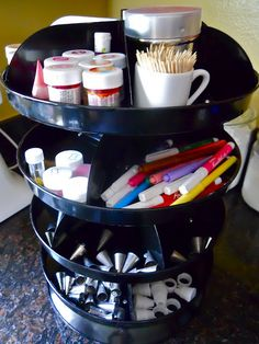 Organized baking supplies, how to organize baking supplies, baking supplies, kitchen organization, popular pin,  how to organize your kitchen, DIY kitchen organization.