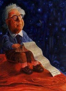 Ray bradbury writing in the stars.