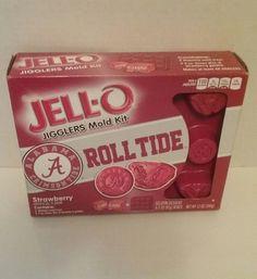 Jell-O Jigglers Mold Kit Alabama Crimson Tide | Sports Mem, Cards & Fan Shop, Fan Apparel & Souvenirs, College-NCAA | eBay!
