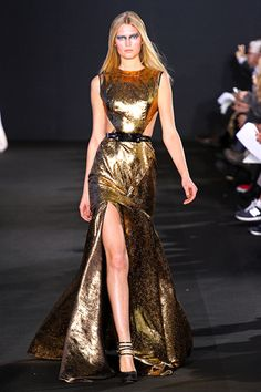 Prabal Gurung copper Fall 2012