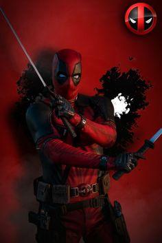Captain deadpool :v Marvel Art, Marvel Dc Comics, Marvel Heroes, Marvel Avengers, Deadpool Y Spiderman, Deadpool Funny, Thor Wallpaper, Deadpool Wallpaper, Mundo Marvel