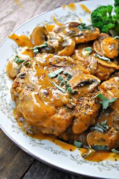 Vegan Lentil Salisbury Steak - Rabbit and Wolves