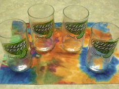 Recycled Bud Light Lime Bottle Tumbler/ glasses by FireAntDesign, $15.00