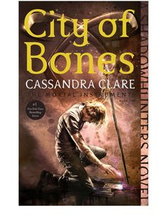 New Cover Reveal: City of Bones (The Mortal Instruments, #1)  by Cassandra Clare  -On sale September 1st 2015