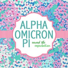alpha omicron pi | sorority sugar