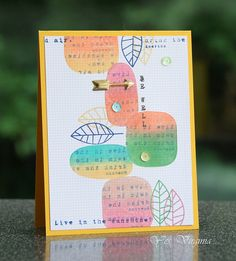 Gorgeous card created by Virginia using Simon Says Stamp Exclusives.