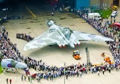 Rollout of gorgeous Avro Vulcan Military Jets, Military Aircraft, The Art Of Flight, V Force, Avro Vulcan, Post War Era, Falklands War, History Online, Military Pictures