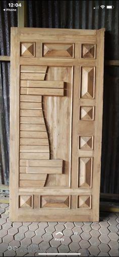 Single Door Design, Wooden Front Door Design, Wooden Front Doors, Wood Doors, Door Design Images, Home Door Design, Door Design Interior, Latest Door Designs, Modern Wooden Doors