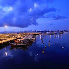 Puerto de Punta del Este.URUGUAY.
