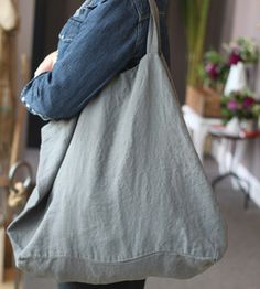 French Linen Tote; As big as this is, it would weigh as much as my eleven year old within two weeks.