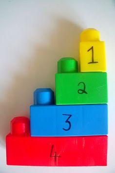 numbering blocks