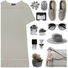 Sporty Chic: Sneakers and Dresses by eula-eldridge-tolliver on Polyvore featuring A.P.C., Hollister Co., Elizabeth and James, Banana Republic, NARS Cosmetics, Witchery, Elements and Palecek