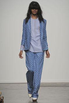 Pajama suit at Karen Walker #NYFW #fashion #summer 2013