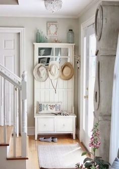 The sweetest and cute Shabby Chic decorating ideas for your hall | My desired home