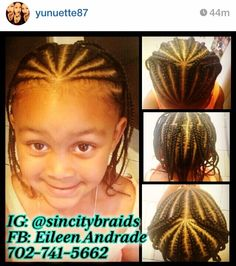 Little girl braids / hairstyles / protective hairstyles