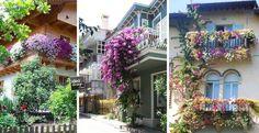 Ecco 20 bellissimi balconi decorati con fiori! Lasciatevi ispirare…